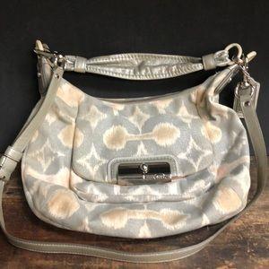 Coach canvas purse